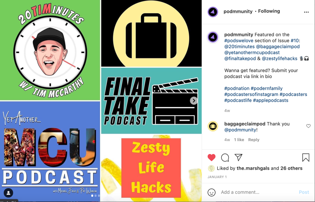 20TIMINUTES on Podmmunity
